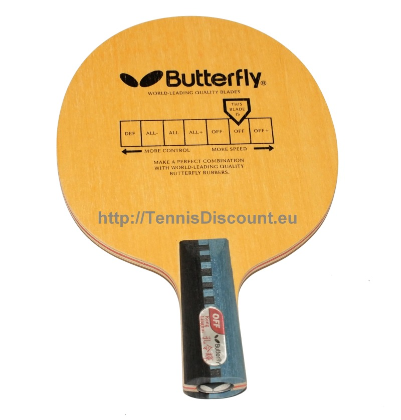Butterfly Kong Linghui Special Penhold (OFF)