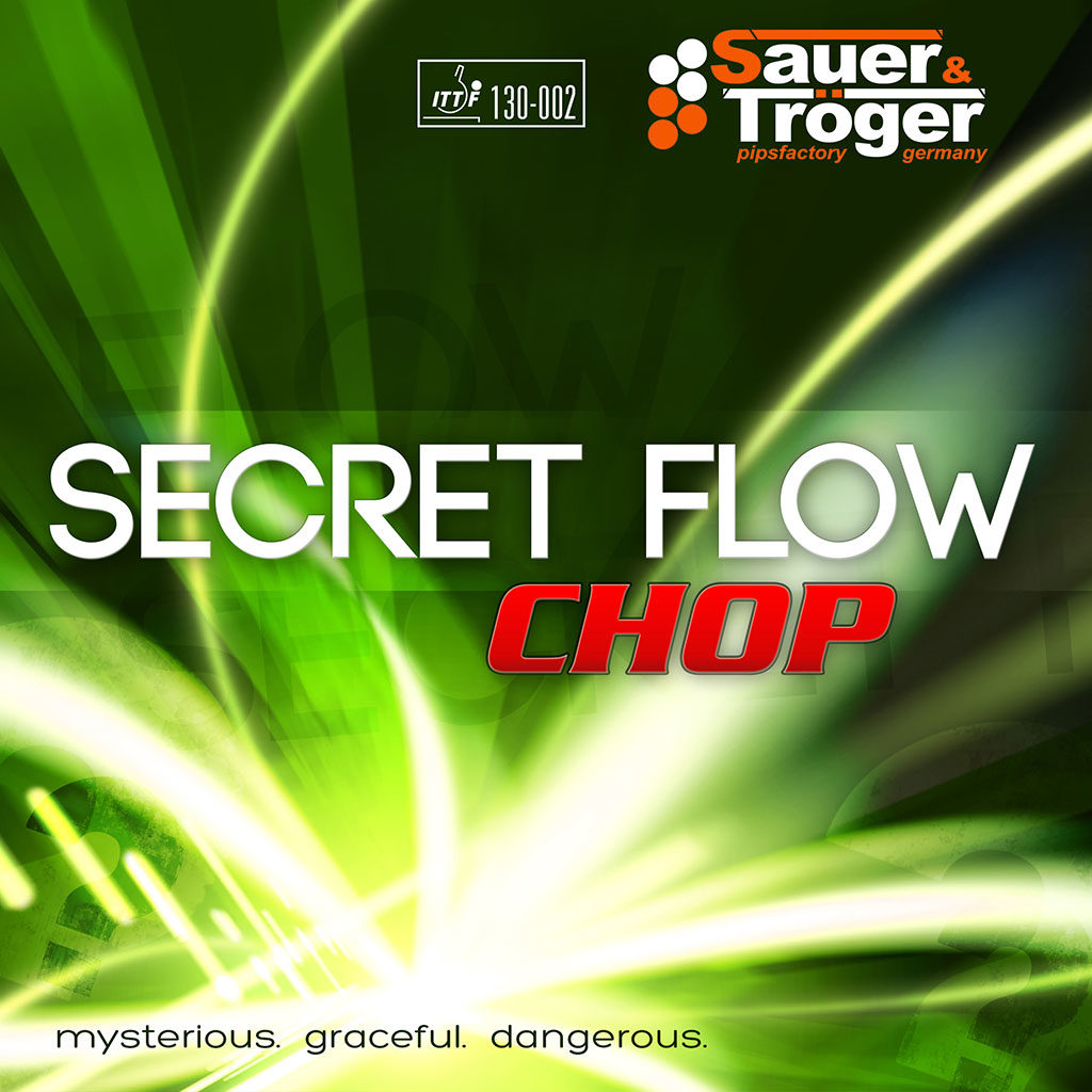 SECRET FLOW CHOP - Гума за сечене от Sauer & Troger, Германия